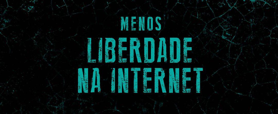 Menos liberdade na Internet