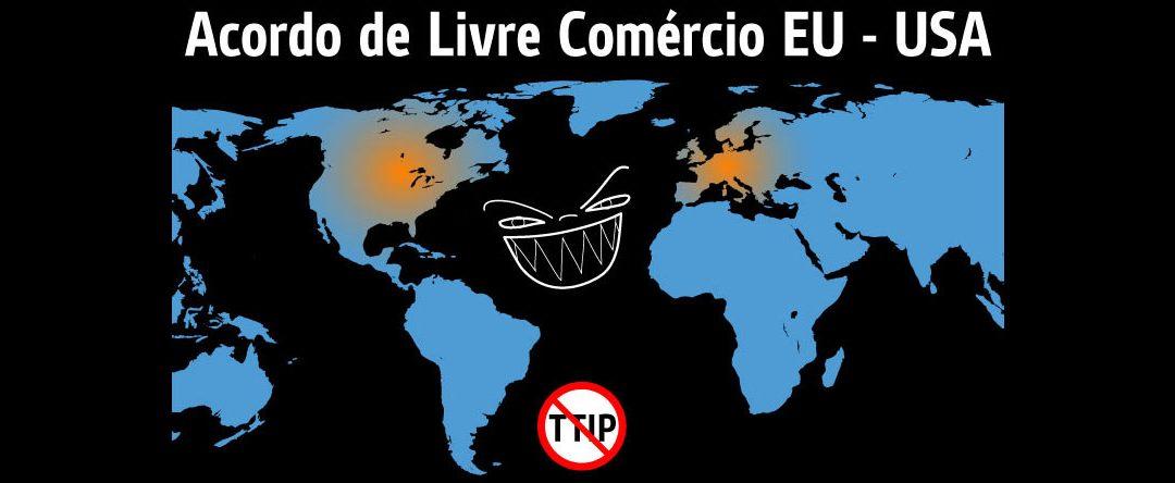 infográfico que resume os perigos do TTIP
