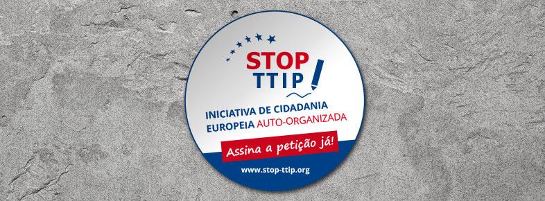 Autocolantes STOP TTIP