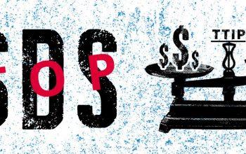 campanha Stop ISDS - contra o ISDS