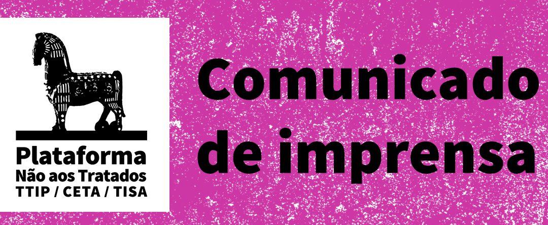 Comunicado de Impressa nº4: Muro de silêncio | Deputados recusam esclarecer cidadãos