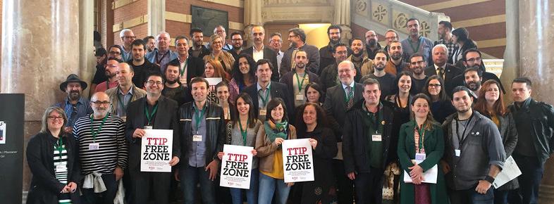 """Declaração de Barcelona """"Zona livre do TTIP, CETA et TISA"""""""