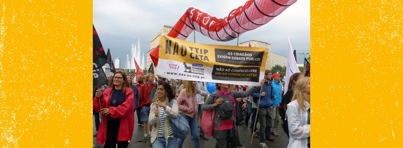 Manifestação na Alemanha contra o TTIP e o CETA traz 320 000 pessoas!
