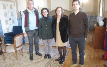 Reunião com a Secretária de Estado para os Assuntos Europeus de Portugal