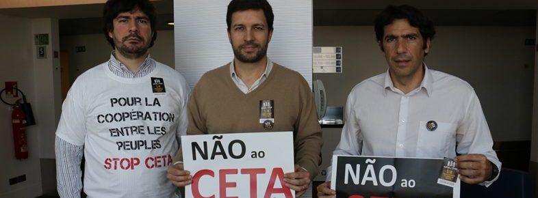 Deputados do PCP rejeitam o CETA