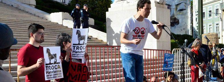 A TROCA na Manifestação Enterrar de vez o furo