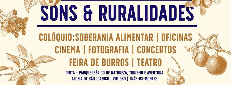 A Plataforma participa: Festival Sons&Ruralidades – 18 a 22 de Maio