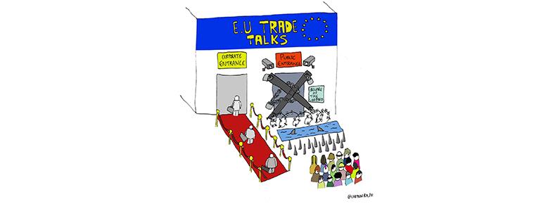 Onde a UE é musculada