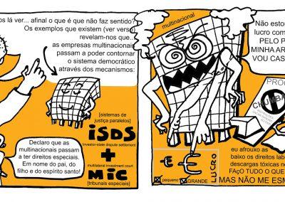 Plataforma TROCA Banda Desenhada sobre acordos internacionais