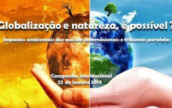 Plataforma TROCA Globalização e Natureza, é possível?