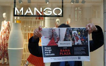 Tragédia e impunidade de Rana Plaza assinalada em frente a lojas envolvidas