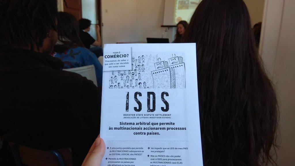 Coimbra IV encontro feminista - Flyer ISDS