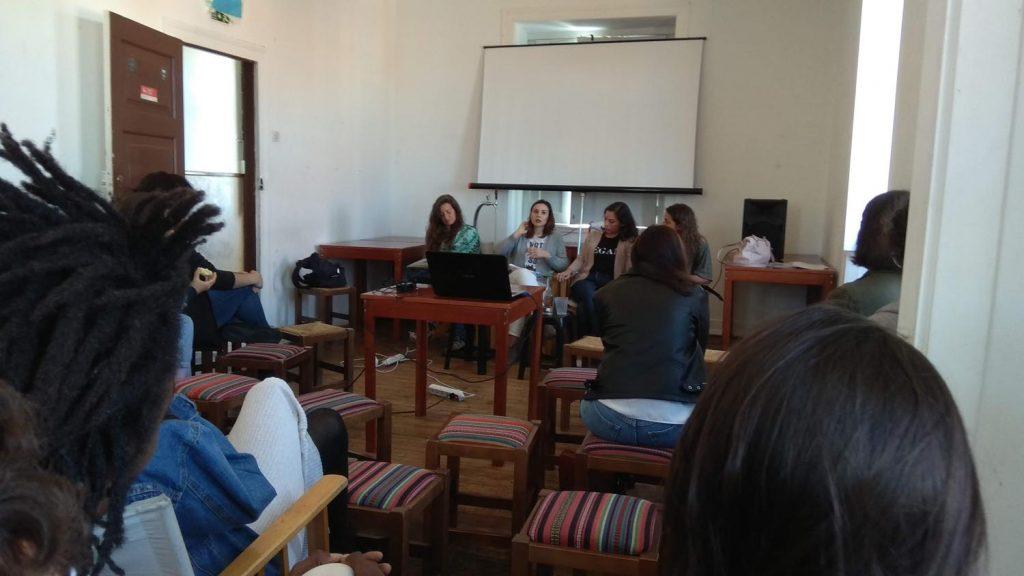 Coimbra IV encontro feminista - debate