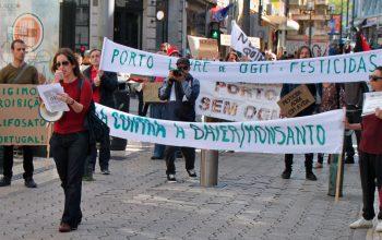 Marcha mundial contra Monsanto-Bayer no Porto 2019