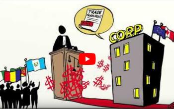 Vídeo explicativo sobre campanha contra o ISDS