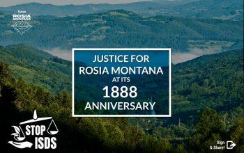 Justice para Rosia Montana