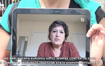 Vídeo - Petição europeia STOP ISDS