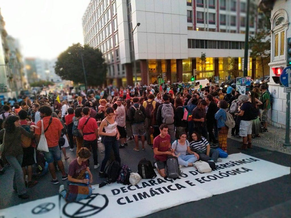 Manifestação para o Clima 2019 - ocupação Almirante Reis
