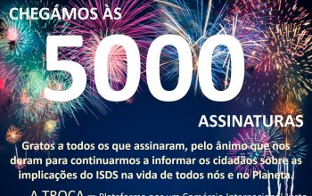 5000 assinaturas stop isds