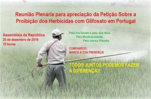 proibir Glifosato em Portugal
