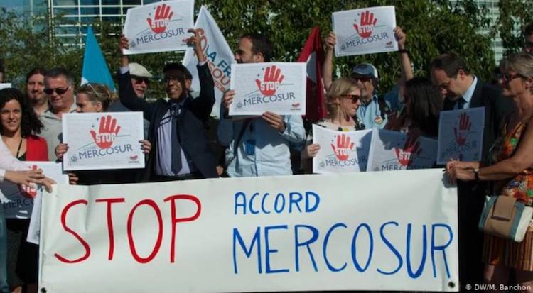 11 razões para rejeitar o acordo UE-Mercosul