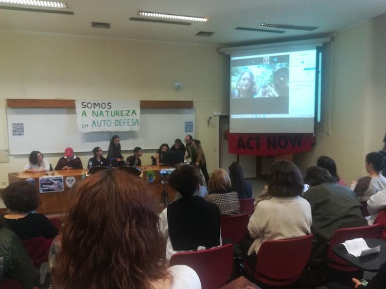 Encontro Nacional da Justiça Climática -TROCA