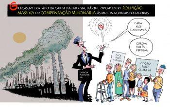 TCE: Poluição ou indemnização