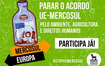 Envio de email contra a ratificação do acordo UE-Mercosul