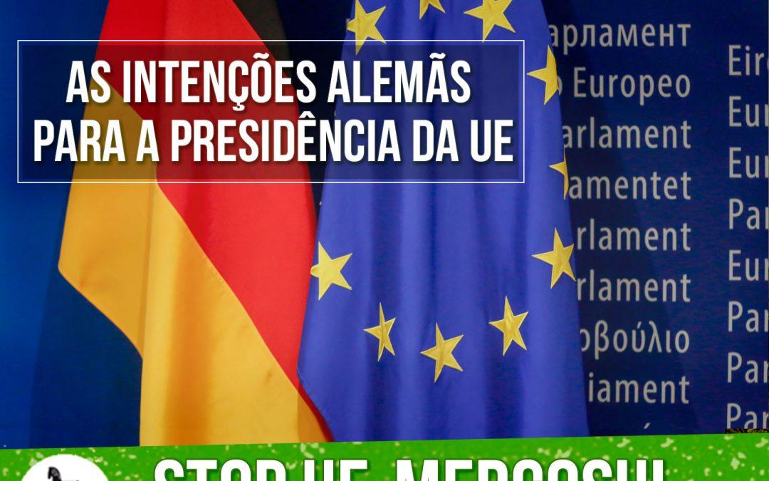 UE – Mercosul: As intenções do governo alemão