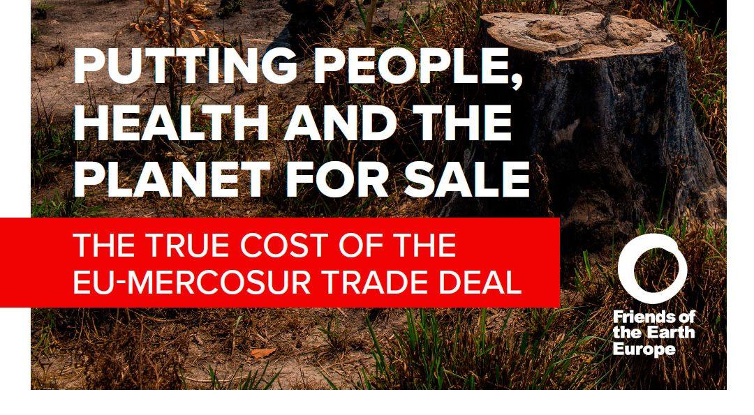 Pôr as Pessoas, a Saúde e o Planeta à venda