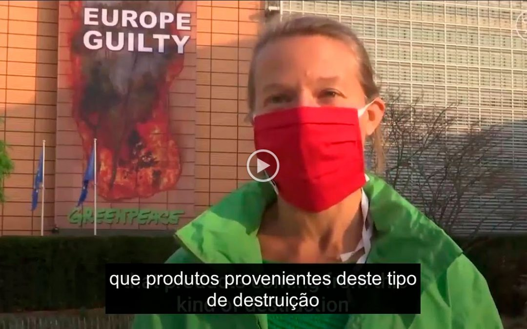 Greenpeace denuncia Acordo UE-Mercosul visto este ignorar a emergência climática