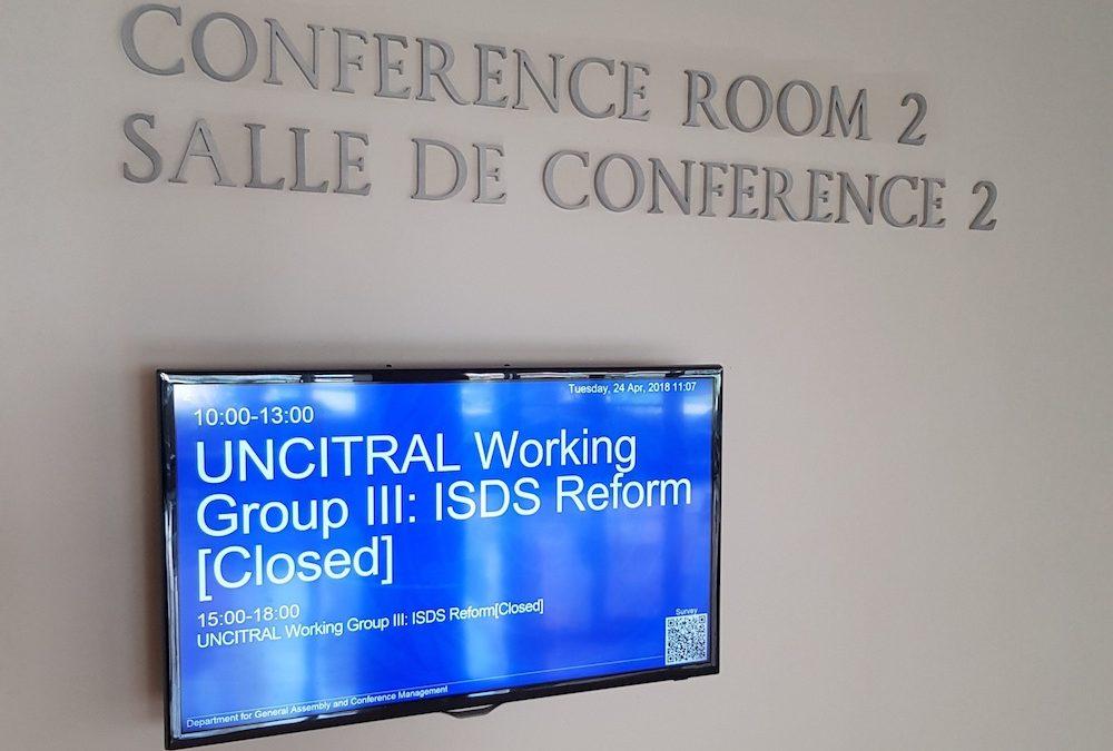 Reforma do ISDS: processo da UNCITRAL passa para o próximo nível