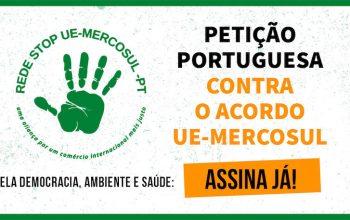 Petição portuguesa contra o acordo UE-Mercosul