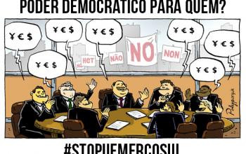 Mercosul - Falta de democracia