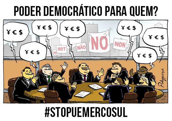 Sindicatos europeus e sul-americanos rejeitam o acordo UE-Mercosul