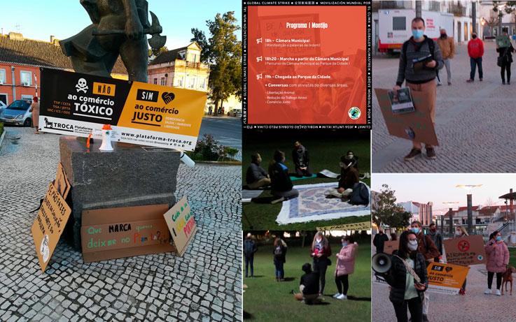 A TROCA participa no dia de acção da Greve Climática Estudantil no Montijo