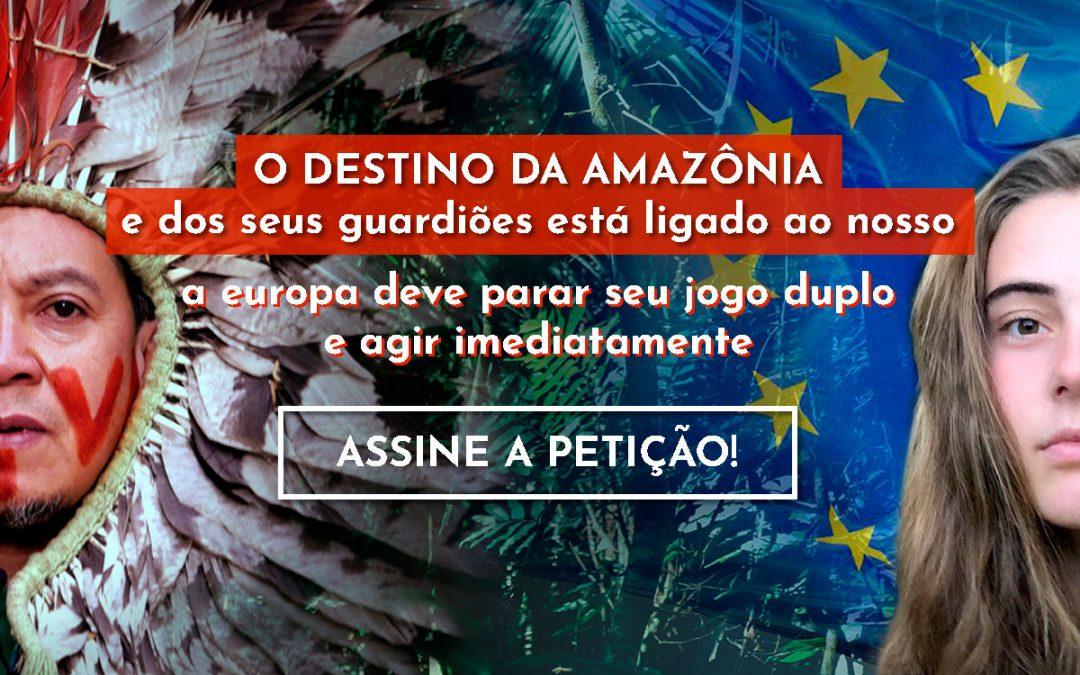 Campanha internacional – O Destino da Amazónia e seus Guardiões está ligado ao nosso