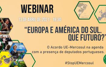 Webinar Europa e América do Sul, que futuro