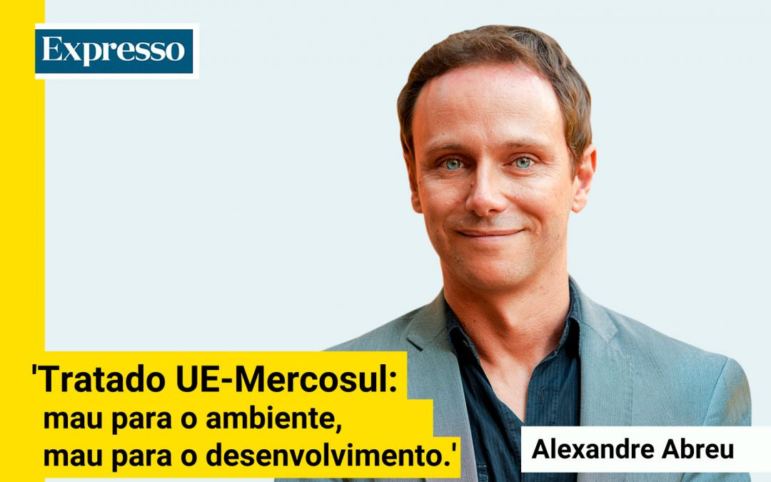 Tratado UE-Mercosul: mau para o ambiente, mau para o desenvolvimento
