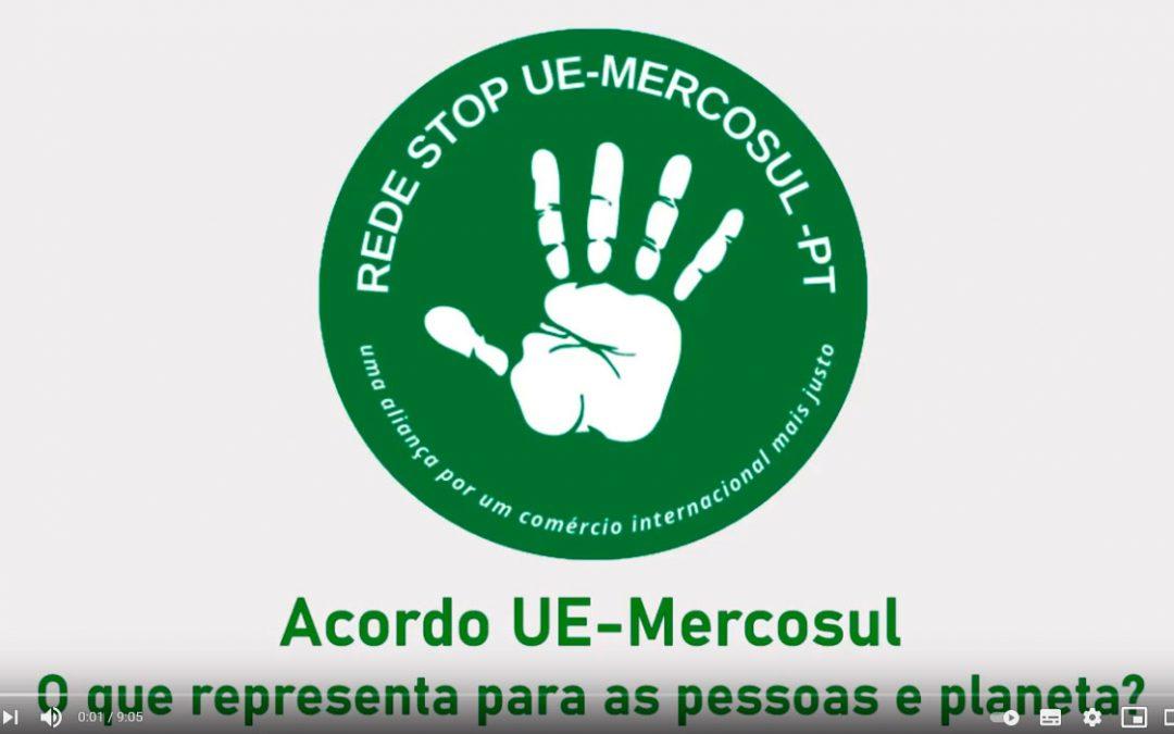 Vídeo da Rede STOP UE-Mercosul para o Evento pela Biodiversidade 2021