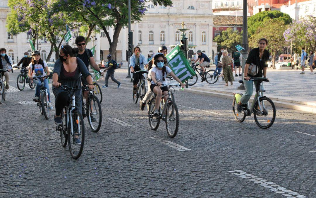 Ainda a Bicicletada pela saída do Tratado da Carta da Energia