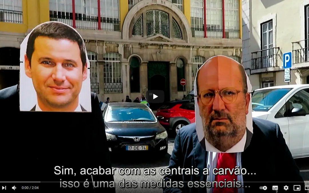 No dia em que o governo português decidiu abandonar o Tratado da Carta da Energia…. O vídeo